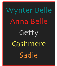 Wynter Belle